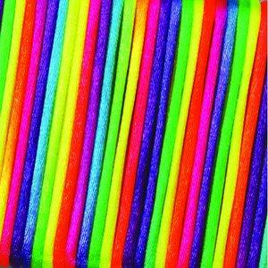 Vävtråd satin - regnbågsfärg