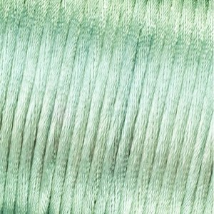 Vävtråd satin - silverfärgad