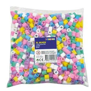 XL-pärlor 1000 st pastell