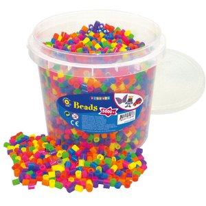 XL-pärlor 5000 st neon