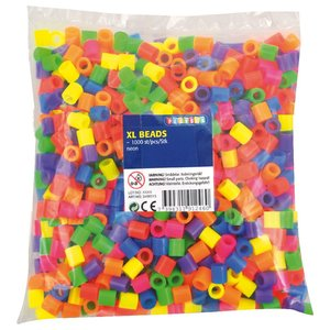 XL-pärlor neon
