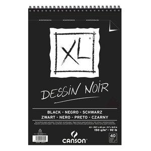 Canson XL Dessin Noir 150g