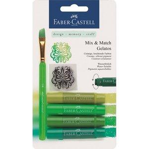 Gelatos Faber-Castell Gröna 4 Kritor