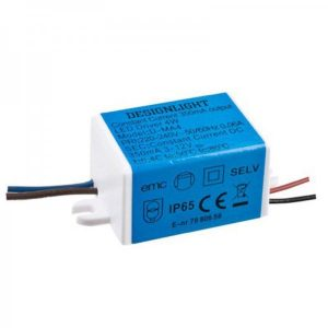 350mA LED transformator 1-4W (4W)