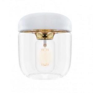 Acorn skärm (vit) (Mässing/guld)