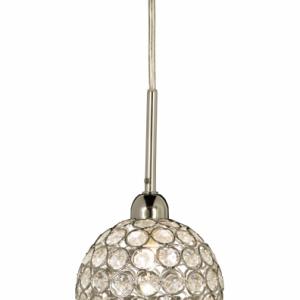 Aida fönsterlampa (Förkromad/blank)