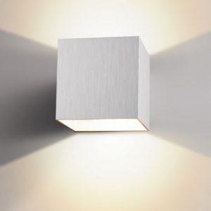 Alu Box vägglampa (Aluminium)
