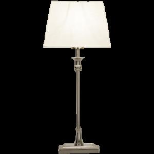 Anette 55cm silver/vit (Förkromad/blank)