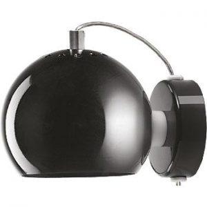 Ball vägglampa glans (Koppar)