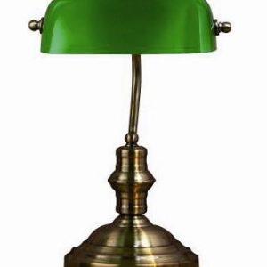 Bankers bordslampa stor (Oxid)
