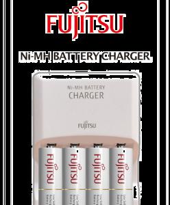 Batteri AA 4-pack inkl. laddare