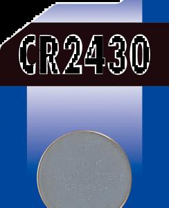 Batteri Knapp CR2430 1-pack