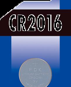Batteri knapp CR2016 1-pack
