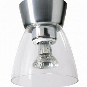 Bizzo aluminium/klar LED (Aluminium)