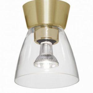 Bizzo mässing/klar LED (Mässing/guld)