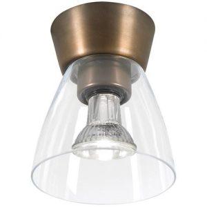 Bizzo plafond oxid/klar LED (Oxid)