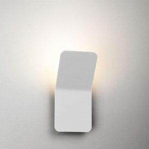 Boomerang vägglampa LED (Vit)