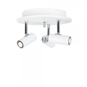 Cato LED rondell 3-spot (Vit)