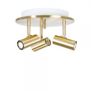 Cato LED rondell mässing (Mässing/guld)