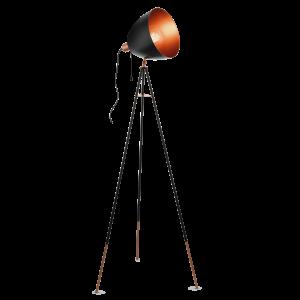 Chester golvlampa (Svart)
