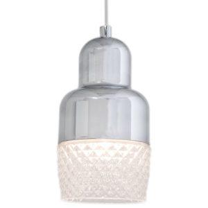 Colon fönsterlampa (Förkromad/blank)