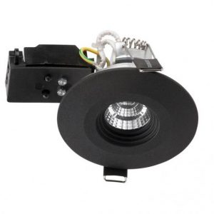 D-L4004 utomhusspotlight LED (Svart)