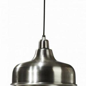 Detroit taklampa 26cm antiksilver (Silver)