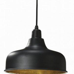 Detroit taklampa 26cm svart (Svart)