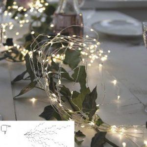 Dew Drop bukettslinga LED (Grå)