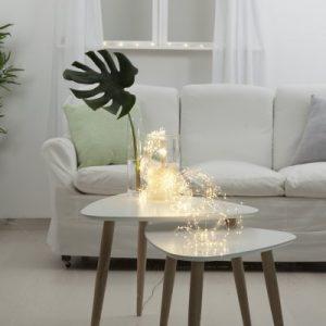 Dew Drop bunt 80cm LED (Klar/transparent)