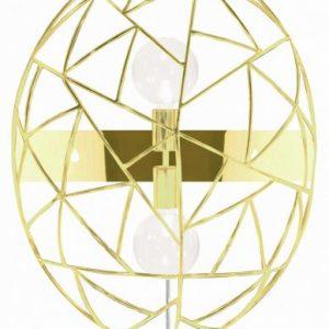 Diamond vägglampa (Mässing/guld)