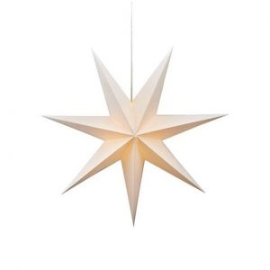 Duva 75 pappersstjärna (Vit)