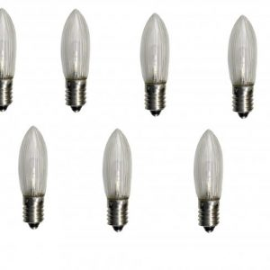 E10 7-pack LED 55V (Klar/transparent)