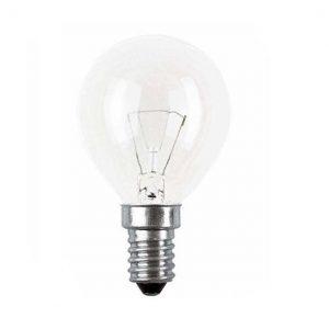 E14 Klotlampa klar 15W (15W)