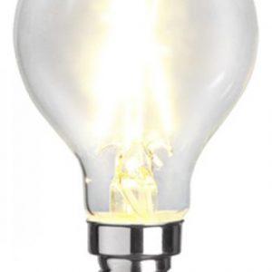 E14 Klotlampa klar LED 2W