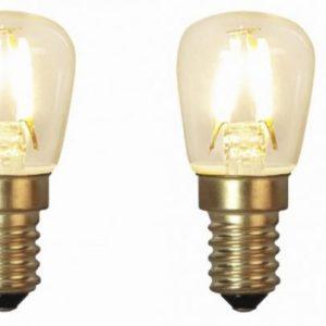 E14 Päronlampa LED 1