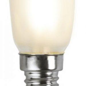E14 Päronlampa frost LED 1