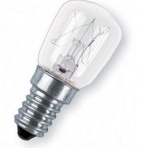E14 Päronlampa klar 15W (15W)