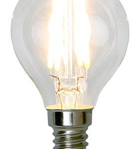 E14 klotlampa LED 5W dimbar