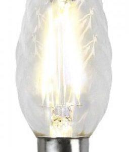 E14 vriden kronljus klar LED 2W