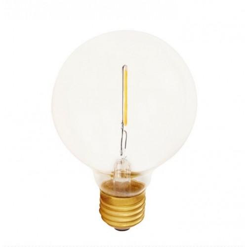 E27 Atelier klar globlampa 80mm 1W