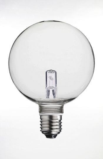 E27 Globlampa klar 100