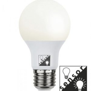E27 Normallampa 13W skymningssensor
