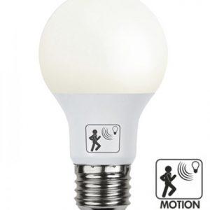 E27 Normallampa LED 7W skymning-rörelsevakt