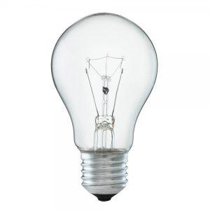 E27 Normallampa klar 15W