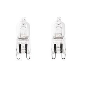 G9 Halogenlampa 2-pack 18W (25W)