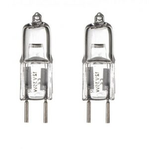 GY6.35 Halogenlampa 2-pack 28W (35W)