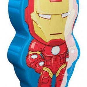 Iron Man ficklampa LED (Flerfärgad)