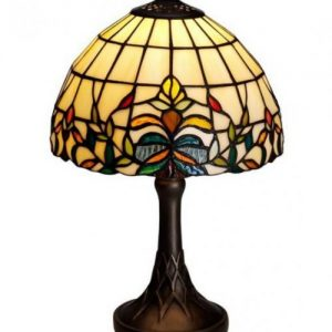 Lilja bordlampa 25cm (Flerfärgad)