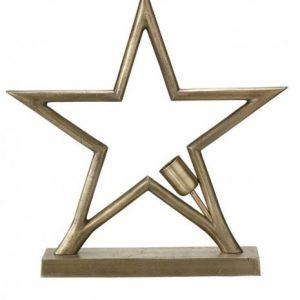 Metallstjärna Bord Råmässing 45cm (Råmässing)
